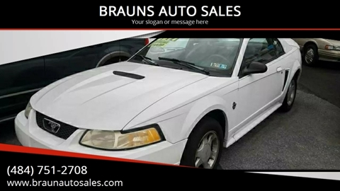 1999 Ford Mustang for sale in Pottstown, PA