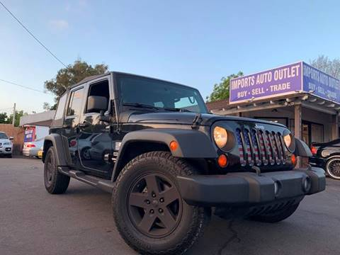 2010 Jeep Wrangler Unlimited for sale in Spring Valley, CA