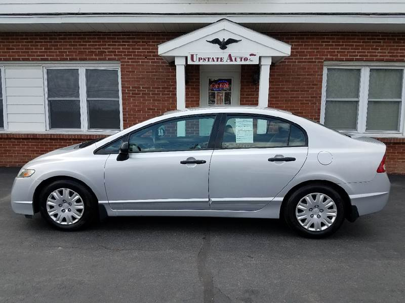 2010 Honda Civic for sale at UPSTATE AUTO INC in Germantown NY