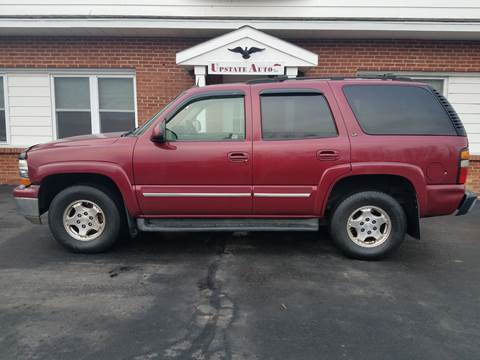 2004 Chevrolet Tahoe for sale at UPSTATE AUTO INC in Germantown NY