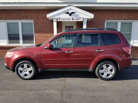 2009 Subaru Forester for sale at UPSTATE AUTO INC in Germantown NY