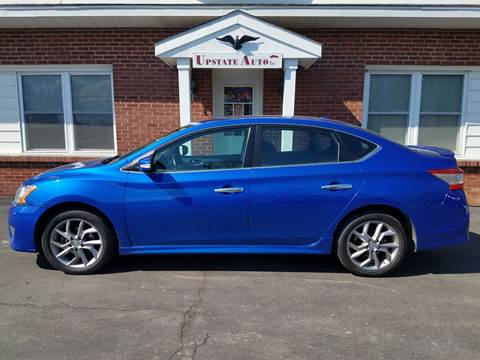 2015 Nissan Sentra for sale at UPSTATE AUTO INC in Germantown NY