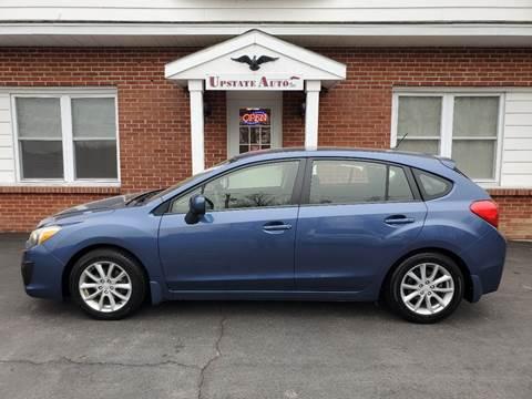 2012 Subaru Impreza for sale at UPSTATE AUTO INC in Germantown NY