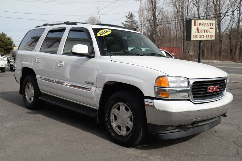 2006 gmc yukon slt 4dr suv 4wd in germantown ny upstate auto inc contact sciox Choice Image