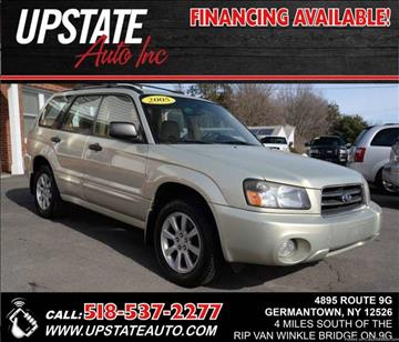 2005 Subaru Forester for sale at UPSTATE AUTO INC in Germantown NY
