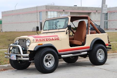1982 Jeep CJ-7 for sale in Alsip, IL