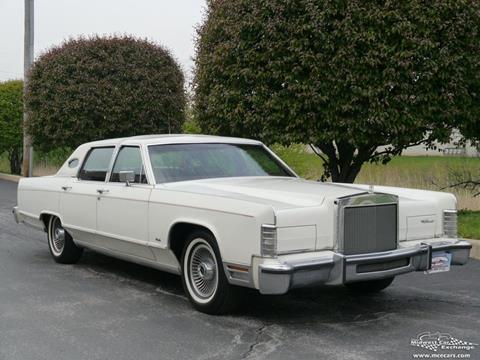 1979 Lincoln Continental for sale in Alsip, IL