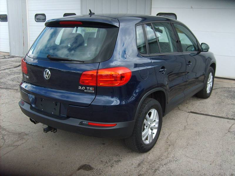 2014 Volkswagen Tiguan AWD S 4Motion 4dr SUV - Manitowoc WI