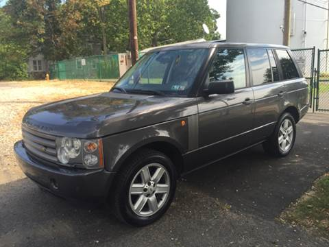 2005 Land Rover Range Rover for sale in Hatboro, PA