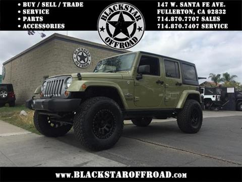 2013 Jeep Wrangler Unlimited for sale in Fullerton CA