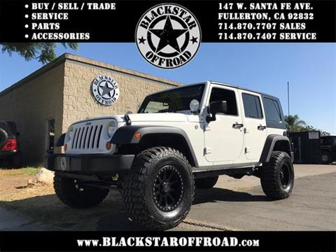2007 Jeep Wrangler Unlimited for sale in Fullerton, CA