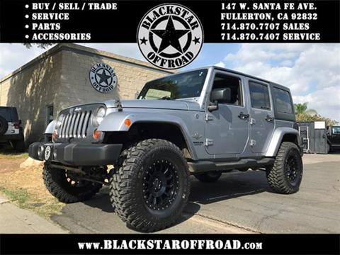 2013 Jeep Wrangler Unlimited for sale in Fullerton, CA