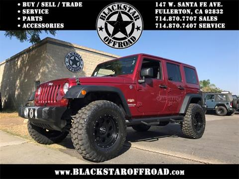 2012 Jeep Wrangler Unlimited for sale in Fullerton CA
