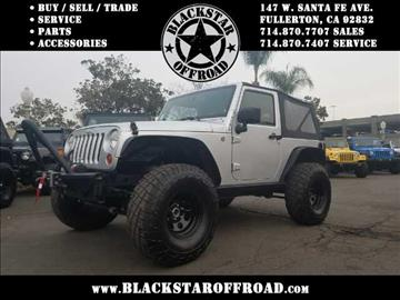 2009 Jeep Wrangler for sale in Fullerton, CA