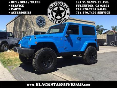 2012 Jeep Wrangler for sale in Fullerton CA