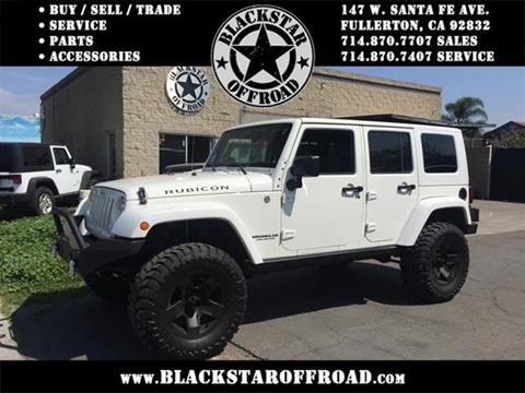 2009 Jeep Wrangler Unlimited for sale in Fullerton CA