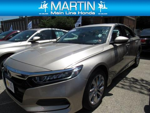 2018 Honda Accord for sale in Ardmore, PA