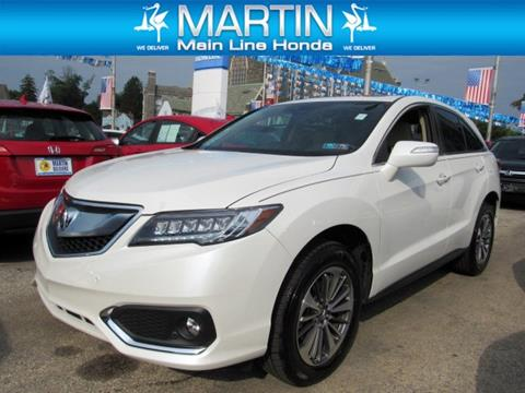 2018 Acura RDX for sale in Ardmore, PA