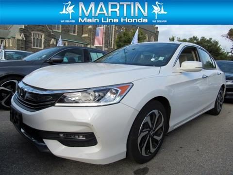 2016 Honda Accord for sale in Ardmore, PA