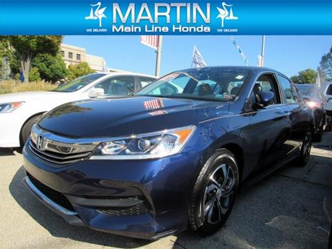 2017 Honda Accord for sale in Ardmore, PA