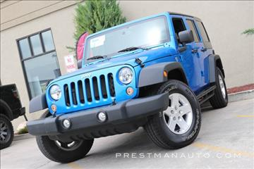 2015 Jeep Wrangler Unlimited for sale in South Salt Lake, UT