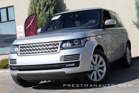 2016 Land Rover Range Rover for sale in South Salt Lake, UT