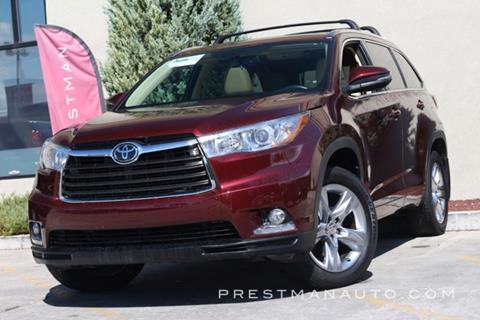 2015 Toyota Highlander for sale in South Salt Lake, UT