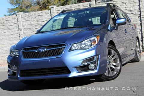 2015 Subaru Impreza for sale in South Salt Lake, UT