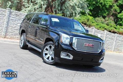 2017 GMC Yukon XL for sale in South Salt Lake, UT
