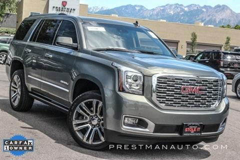 2018 GMC Yukon for sale in South Salt Lake, UT