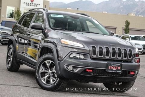 2017 Jeep Cherokee for sale in South Salt Lake, UT