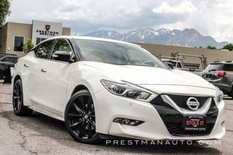 2017 Nissan Maxima for sale at PRESTMAN AUTO in South Salt Lake UT