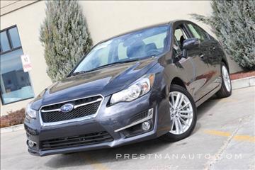 2016 Subaru Impreza for sale in South Salt Lake, UT