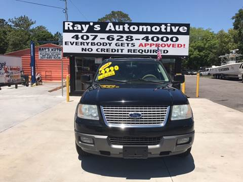 2004 Ford Expedition for sale at RAYS AUTOMOTIVE SALES & REPAIR INC in Longwood FL