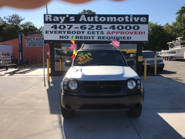2002 Nissan Xterra for sale at RAYS AUTOMOTIVE SALES & REPAIR INC in Longwood FL