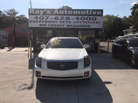 2005 Cadillac CTS for sale at RAYS AUTOMOTIVE SALES & REPAIR INC in Longwood FL