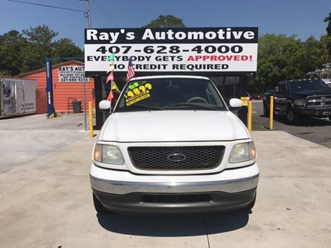 2003 Ford F-150 for sale at RAYS AUTOMOTIVE SALES & REPAIR INC in Longwood FL