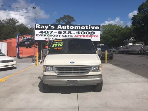 1993 Ford E-350 for sale at RAYS AUTOMOTIVE SALES & REPAIR INC in Longwood FL