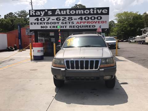 2001 Jeep Grand Cherokee for sale at RAYS AUTOMOTIVE SALES & REPAIR INC in Longwood FL