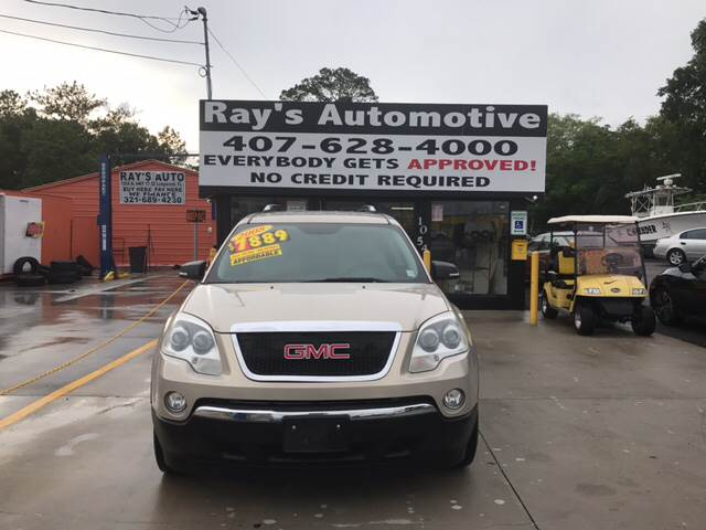 2008 GMC Acadia for sale at RAYS AUTOMOTIVE SALES & REPAIR INC in Longwood FL