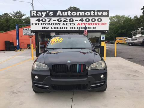 2008 BMW X5 for sale at RAYS AUTOMOTIVE SALES & REPAIR INC in Longwood FL