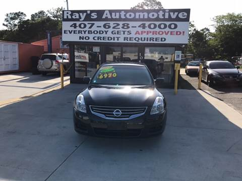 2012 Nissan Altima for sale at RAYS AUTOMOTIVE SALES & REPAIR INC in Longwood FL