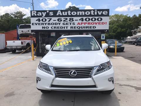 2015 Lexus RX 350 for sale at RAYS AUTOMOTIVE SALES & REPAIR INC in Longwood FL