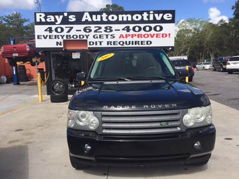 2007 Land Rover Range Rover for sale in Longwood, FL