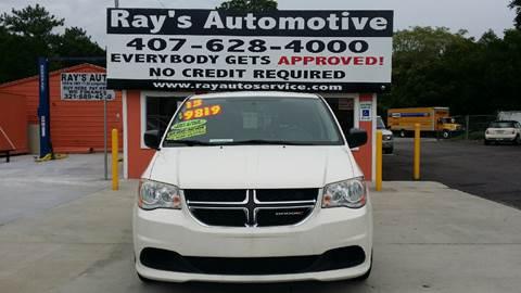 2013 Dodge Grand Caravan for sale at RAYS AUTOMOTIVE SALES & REPAIR INC in Longwood FL