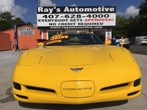 2003 Chevrolet Corvette for sale at RAYS AUTOMOTIVE SALES & REPAIR INC in Longwood FL