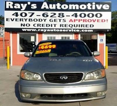 2004 Infiniti I35 for sale at RAYS AUTOMOTIVE SALES & REPAIR INC in Longwood FL