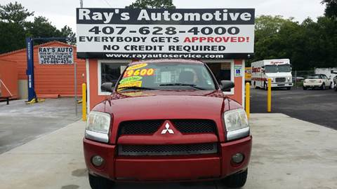 2009 Mitsubishi Raider for sale at RAYS AUTOMOTIVE SALES & REPAIR INC in Longwood FL