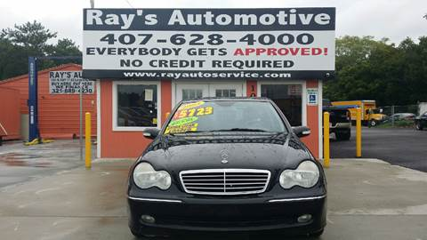 2004 Mercedes-Benz C-Class for sale at RAYS AUTOMOTIVE SALES & REPAIR INC in Longwood FL