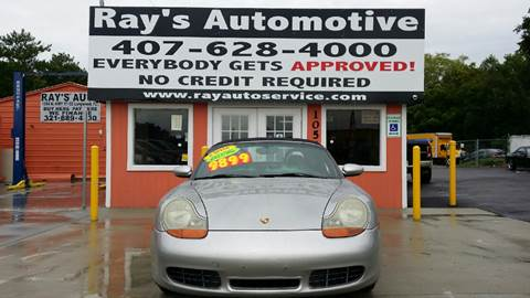 2002 Porsche Boxster for sale at RAYS AUTOMOTIVE SALES & REPAIR INC in Longwood FL